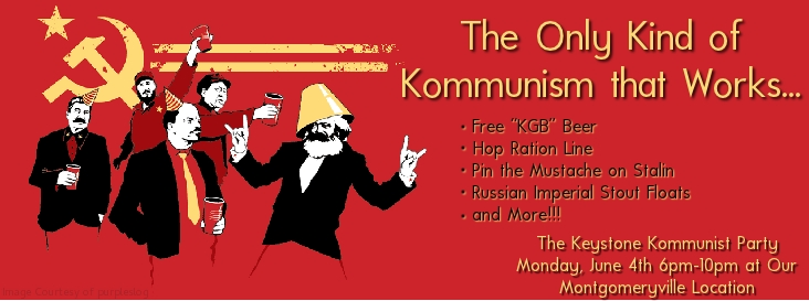Join The Keystone Kommunist Party Keystone Homebrew Supply