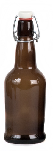 16 oz EZ Amber: Bottle 12/case (1)