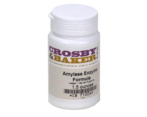 Amylase enzyme: 1.5 oz (1)