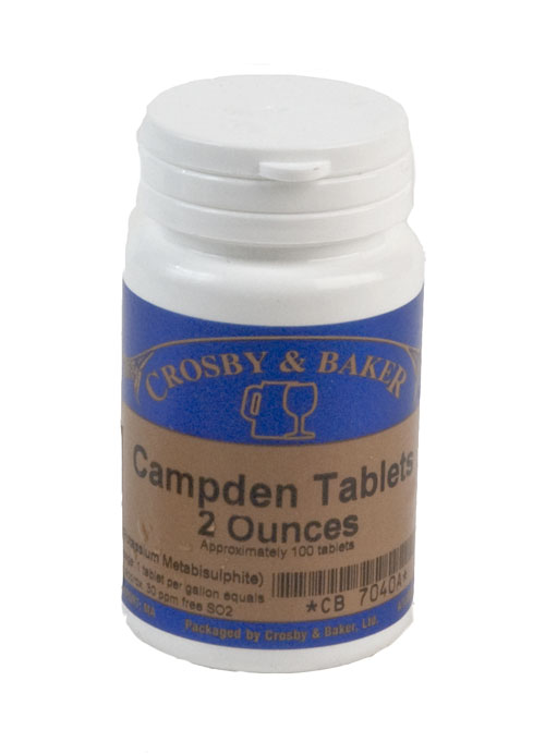 Campden Tablets : 2 ounces (1)