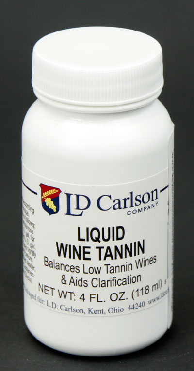 Liquid Wine Tannin: 4 oz pkg (1)