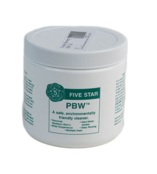 Powder Brewery Wash: PBW 1lb (1)