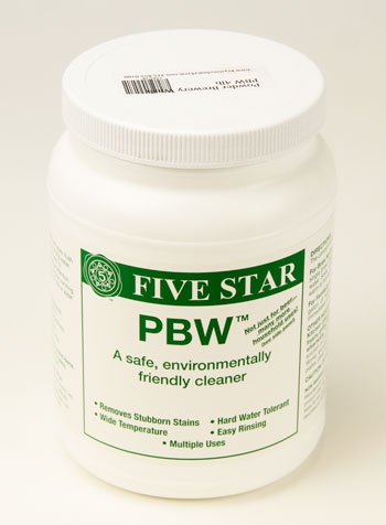 Powder Brewery Wash: PBW 4lb (1)