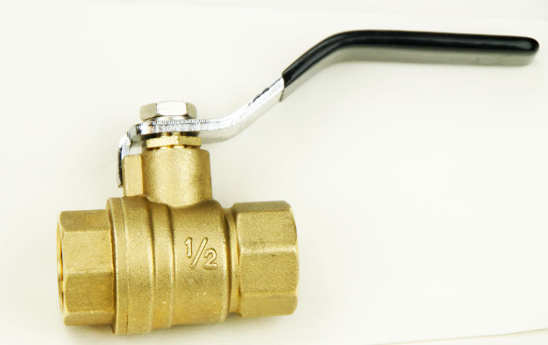 Brass: 1/2 in Ball Valve (1)