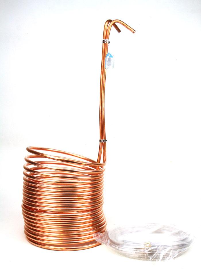 Immersion Wort: Chiller Copper 50ft (1)