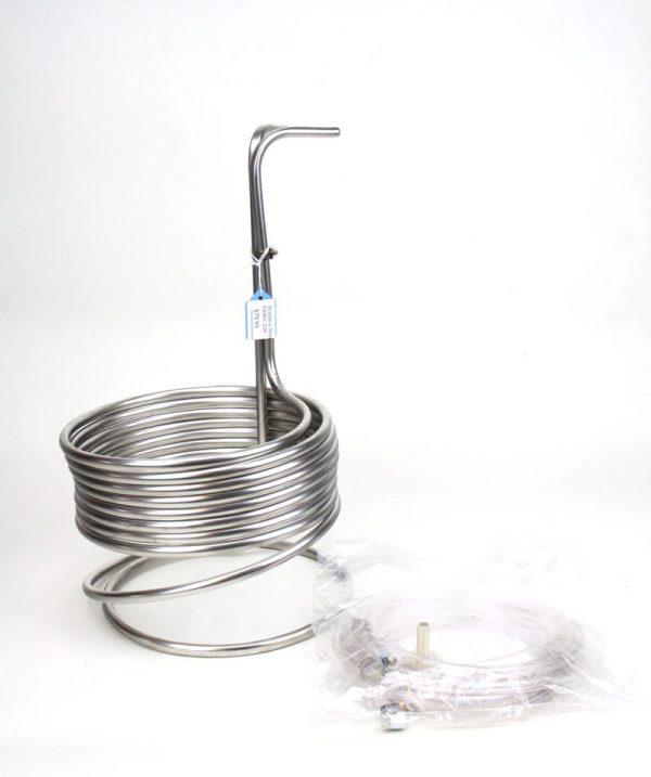 Stainless Steel Wort: Chiller 25ft (1)