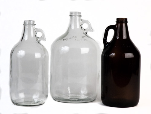 1/2 Gal bottle Amber (6/case) (1)