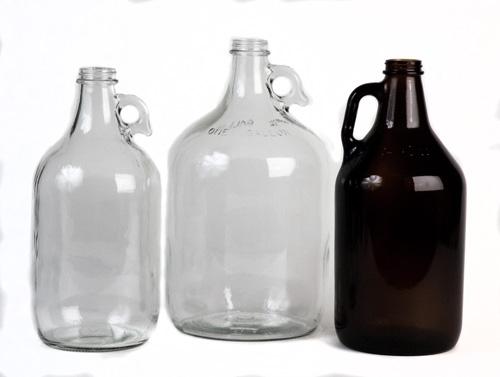 1/2 Gal bottle:Clear (6/case) (1)