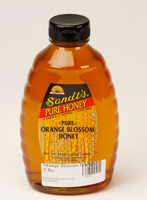 Orange Blossom Honey: 2 lbs. (1)