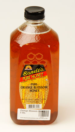 Orange Blossom Honey: 5 lbs. (1)