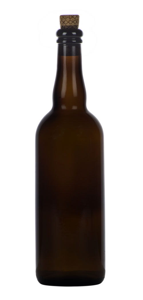 750ml Amber Beer: Bottle 12/case Belg (1)
