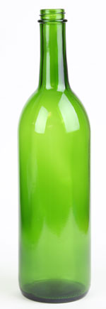 750 ml Green Bord.: Screw Top (1)