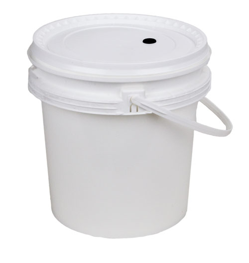 2 gallon bucket:w/dr lid (1)