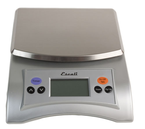 Escali Aqua SS :Digital Scale 11 lb (1)