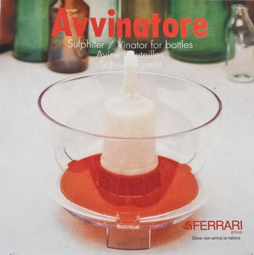 Vinator sulphiter:Bottle Rinser (1)