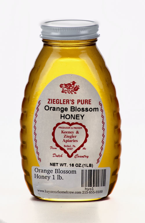 Orange Blossom: Honey 1 lb. (1)