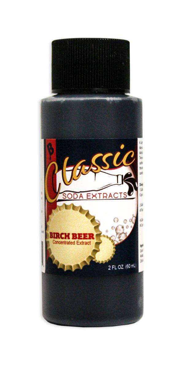 Soda Extract, Birch Beer, 2 ounces-0
