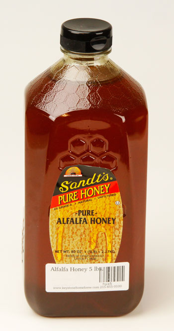 Alfalfa Honey 5 lbs. (1)