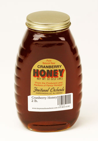 Cranberry Honey: 2 lb. (1)