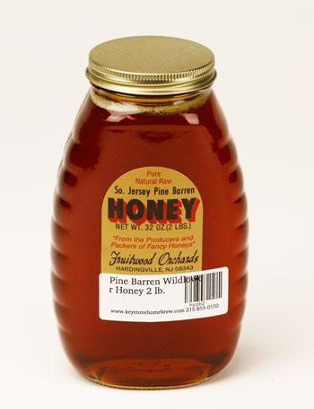 Pine Barren Wildlowe:r Honey 2 lb. (1)