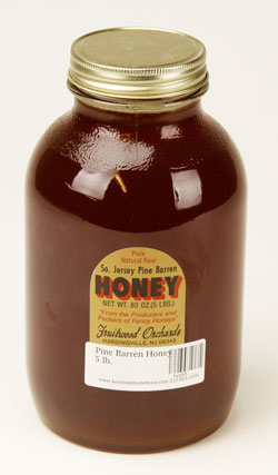 Pine Barren Wildlowe:r Honey 5 lb. (1)