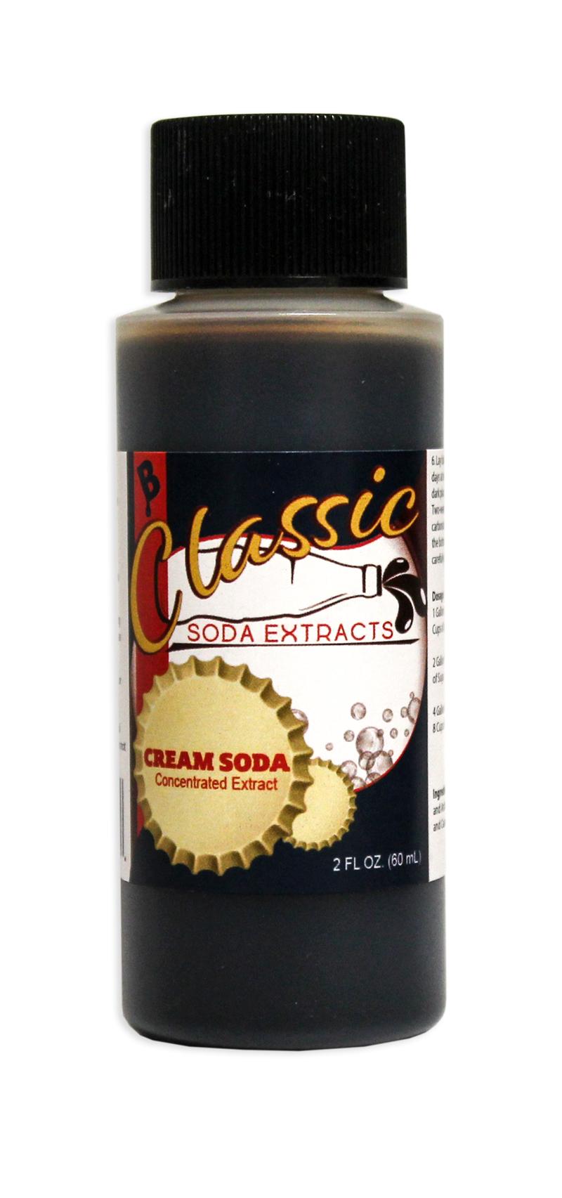 Soda Extract, Cream Soda, 2 ounces-0
