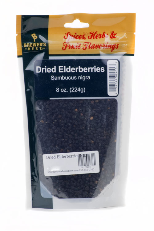 Dried Elderberries 8oz (1)