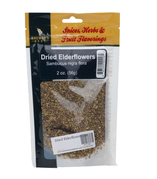 Dried Elderflowers 2oz (1)