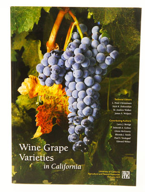 Wine Grape Varieties: CA (1)