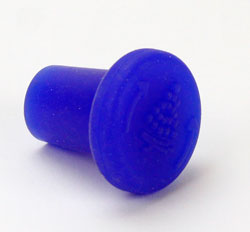 Wine Restopper :Silicone Blue (1)