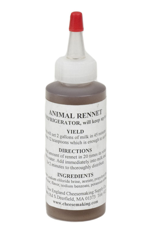 Liquid Rennet : Animal (1)