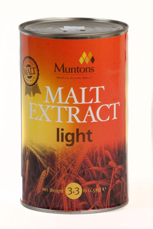 Muntons Light 3.3# (1)