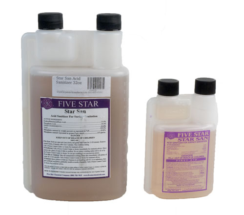 Star San Acid: Sanitizer 8oz (1)