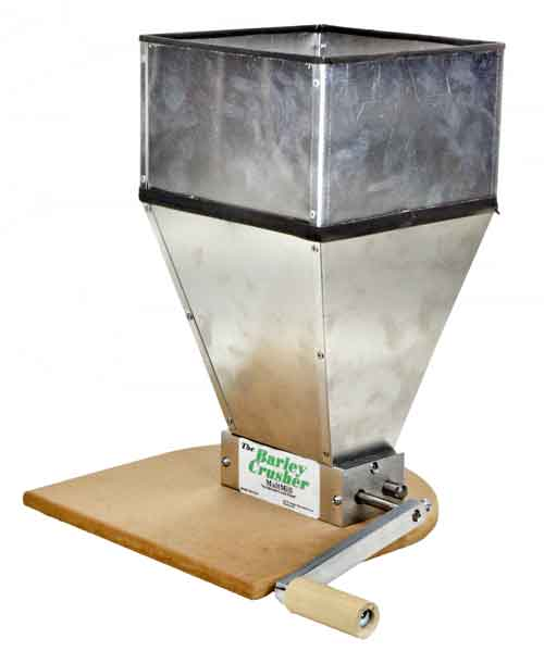 Barley Crusher Mill:15lb hopper (1)