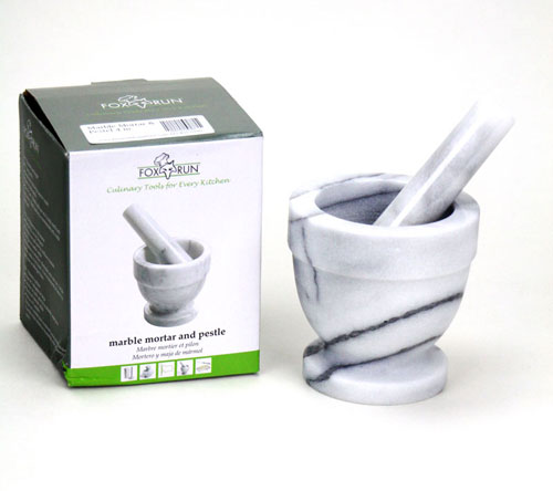 Marble Mortar & :Pestel 4 in. (1)