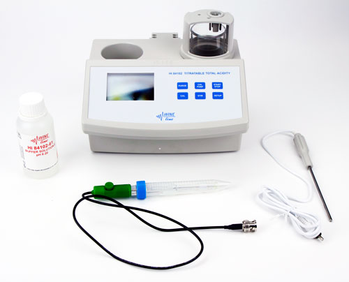 Hanna Mini Titrator: Total Acidity (1)
