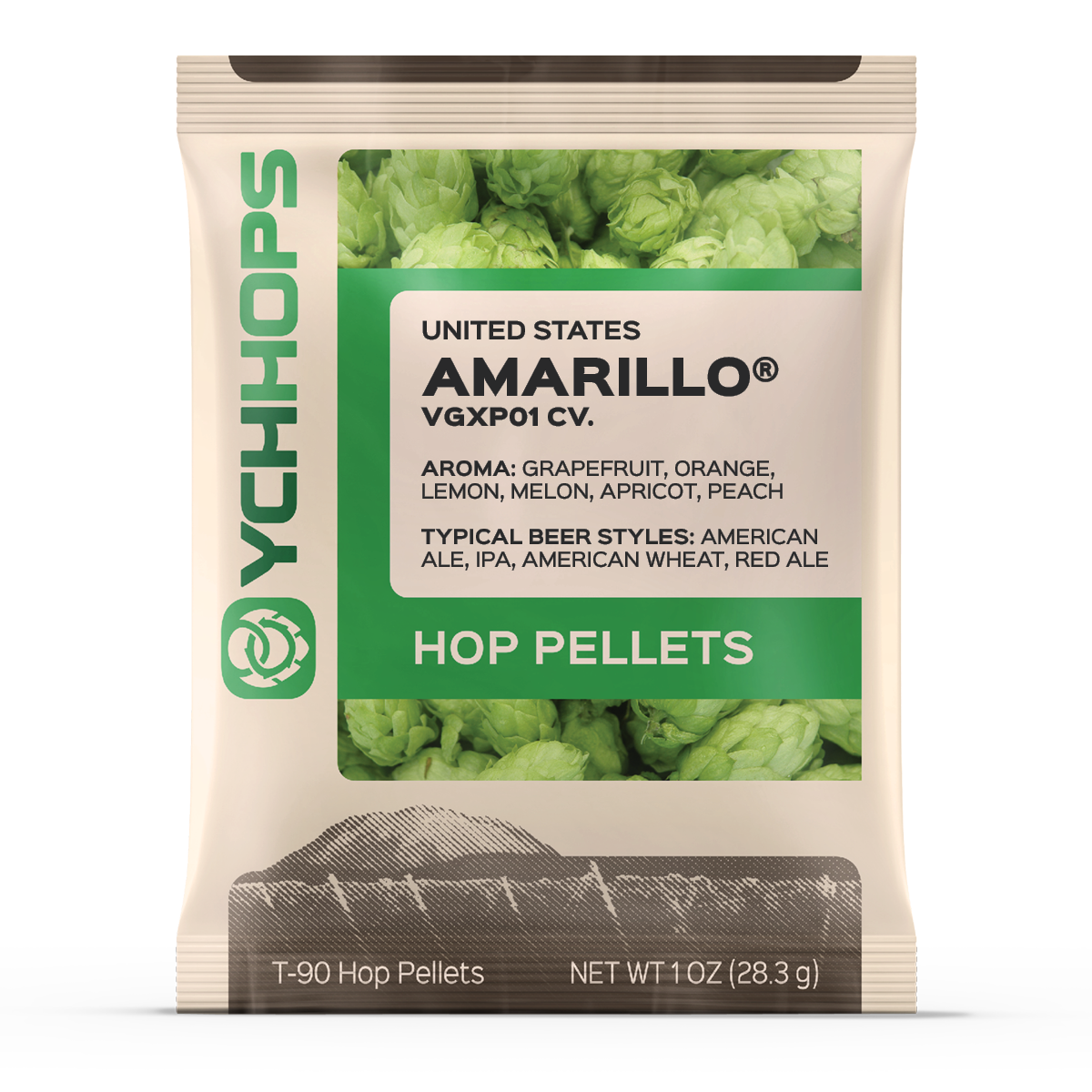 Amarillo 1oz Pellets (1)
