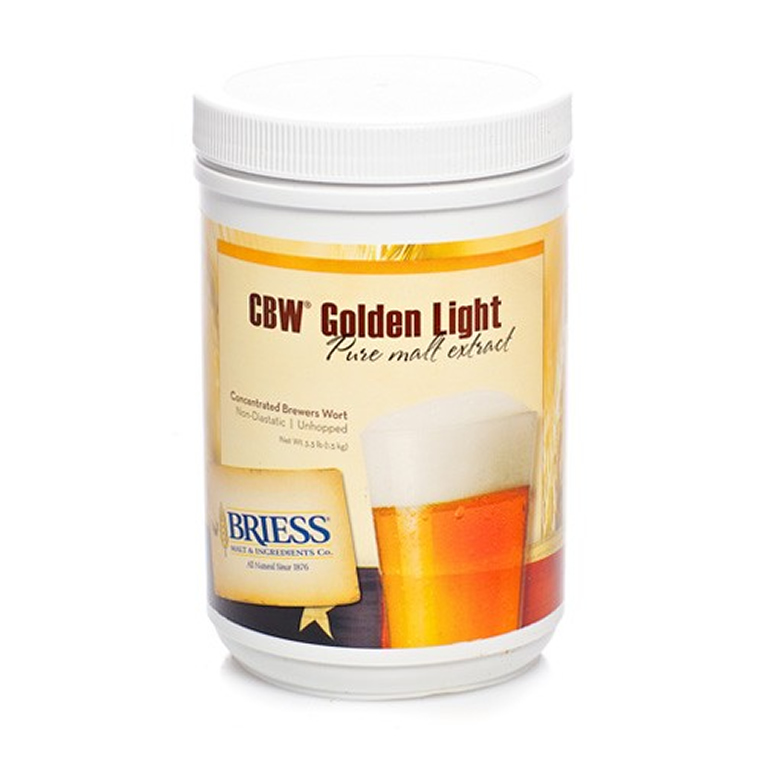 Briess Golden Light Liquid Malt Extract, 3.3 lb-0