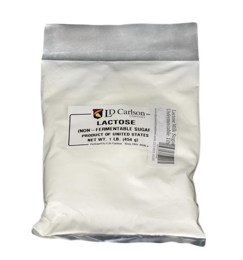 Lactose Milk Sugar: Unfermentable 1lb (1)