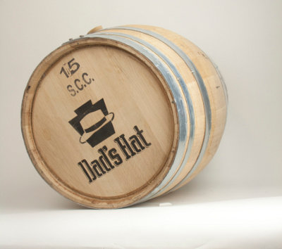 15Gal Whiskey Barrel: Dad's Rye Whiskey (1)