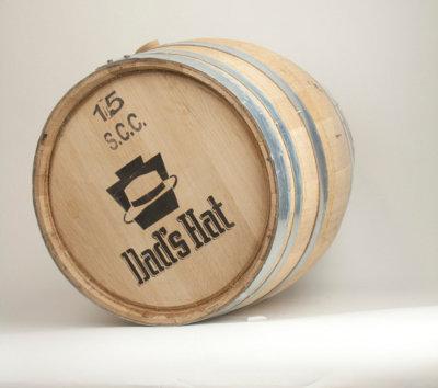 15Gal Whiskey Barrel: Dad's Rye Whiskey (1)