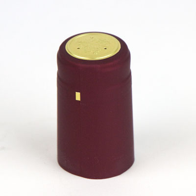 Heat shrink cap: Burgundy (30) (1)