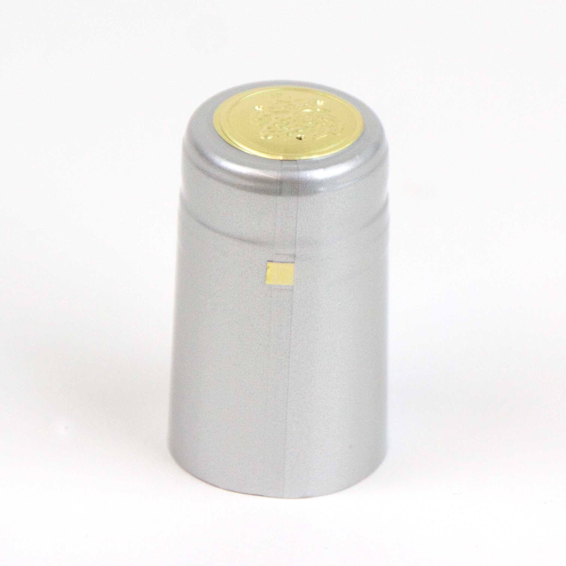 Heat shrink cap: Silver (30) (1)