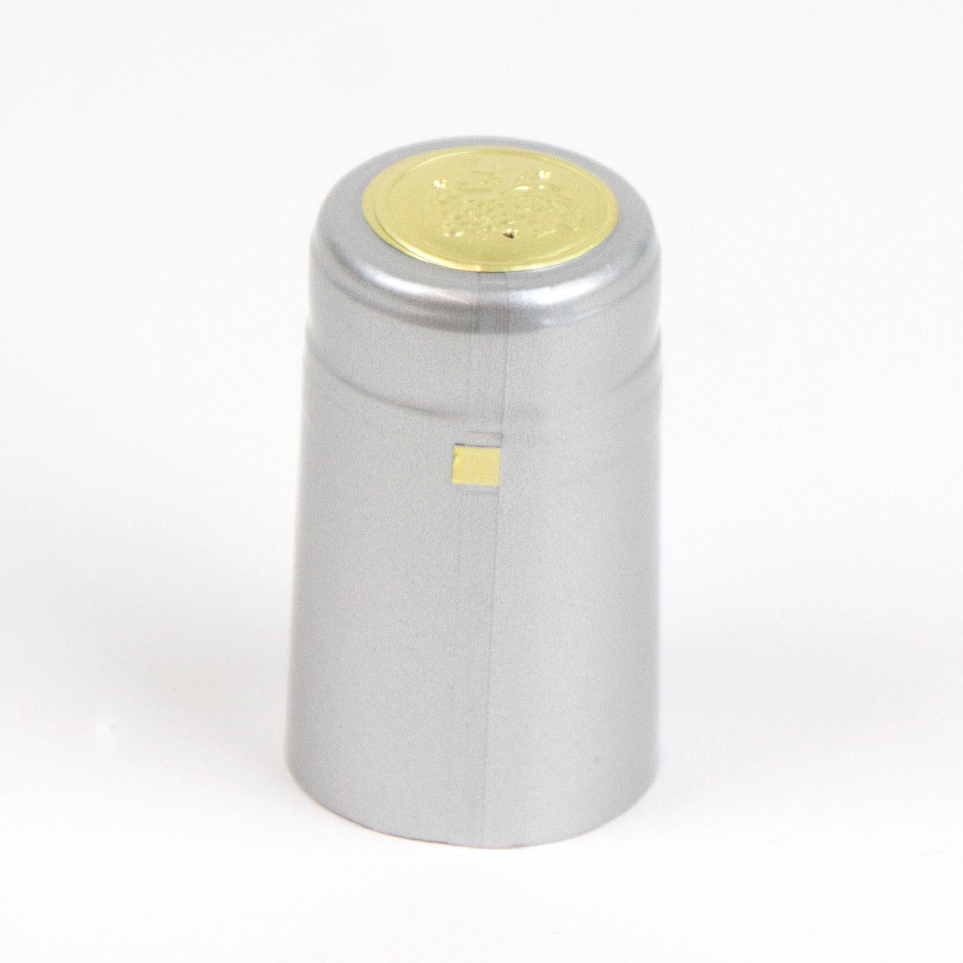 Heat shrink cap: Silver (30) (1)