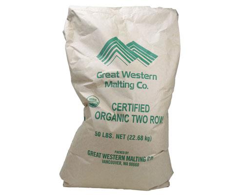 Organic 2-Row Malt:Great Western 55# (1)