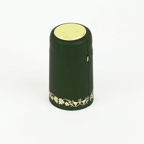 Heat shrink cap: Green w/gg (30) (1)