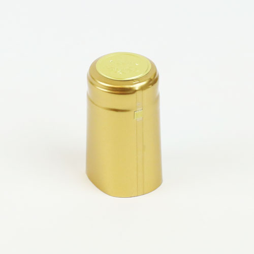 Heat shrink cap: Gold (30) (1)