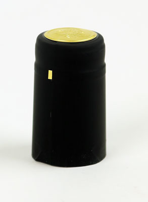Heat shrink cap: Black (30) (1)
