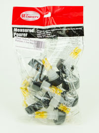 Clear/Yellow Pourer:Portion 1.5oz bag/12 (1)