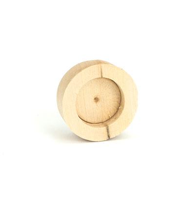 Cask-Firkin Keystone: Wood (1)